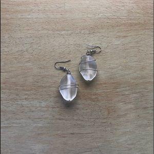Carston Sea glass earrings